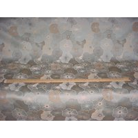 TFA / Swavelle / Mill Creek Kaiya in Powder - Floral Sateen Designer Upholstery Drapery Fabric - By the Yard