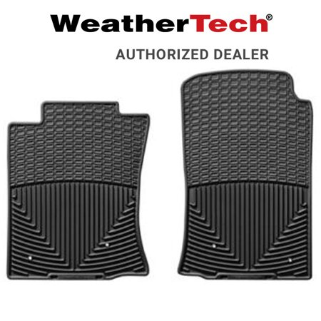 WeatherTech All Weather Front Floor Mats Fits 2005-11 Toyota Tacoma - Black