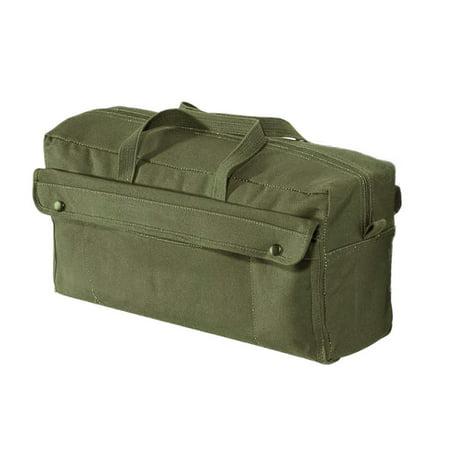Tool Bag - Canvas Jumbo Mechanics, Olive Drab by Rothco