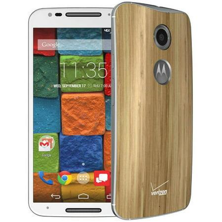 Certified Refurbished Verizon Motorola Moto X 2nd Gen XT1096 GSM Smartphone (Unlocked), White