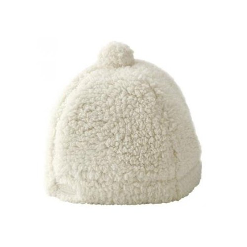 JJ Cole Bundleme Shearling Baby Hat, 6 - 12 Months Multi-Colored