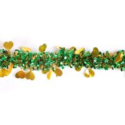 Raypadula 6.6 Inch Christmas Tinsel Twist Garland, Classic Shiny Sparkly Party Soft Tinsel Christmas Tree Ceiling Hanging Decorations