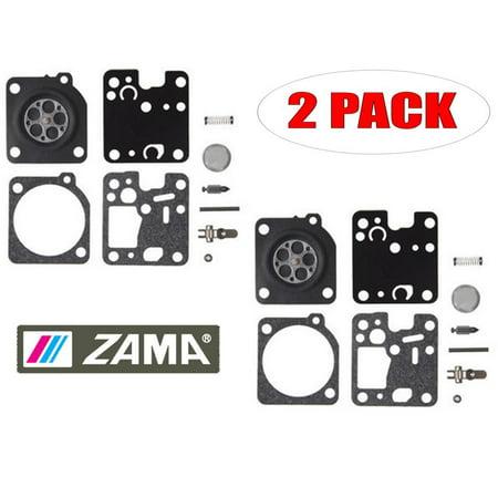 Zama 2 Pack RB-123 Carburetor Repair Kits - image 1 of 1