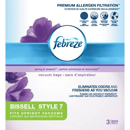 Febreze BISSELL Style 7 Vacuum Bags (3 pack) | (Bag Style Number)