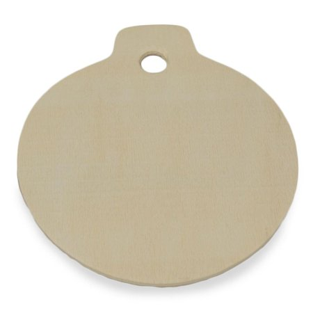 325 blank unfinished wooden christmas ornament