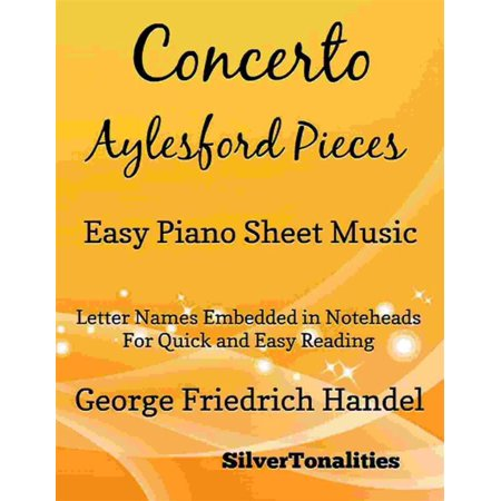 Concerto Aylesford Pieces Easy Piano Sheet Music - eBook