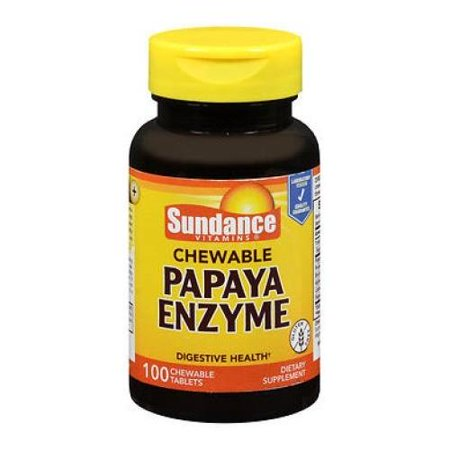 Payasa Halloween (2 Pack Sundance Chewable Papaya Enzyme 100 Tablets)