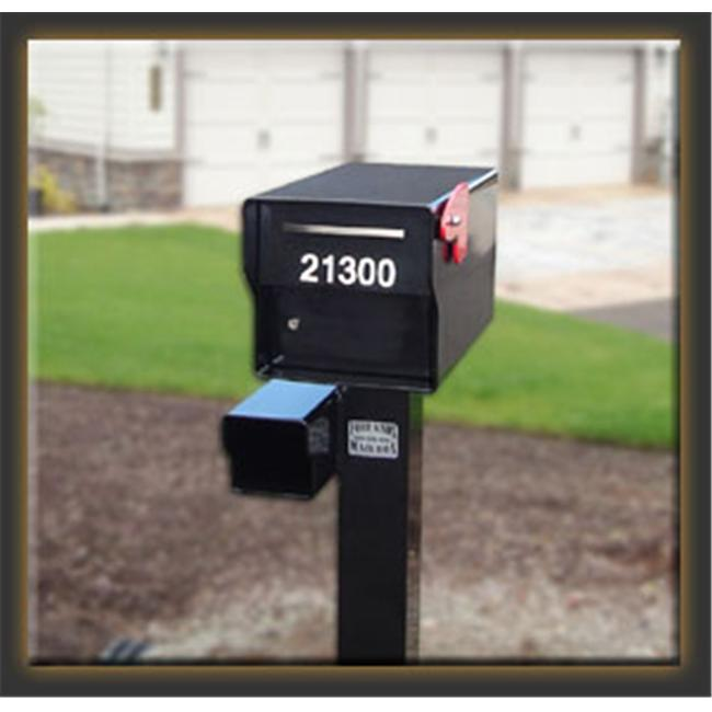 Fort Knox Mailbox Fortress B Fortress - Black -  Post not included