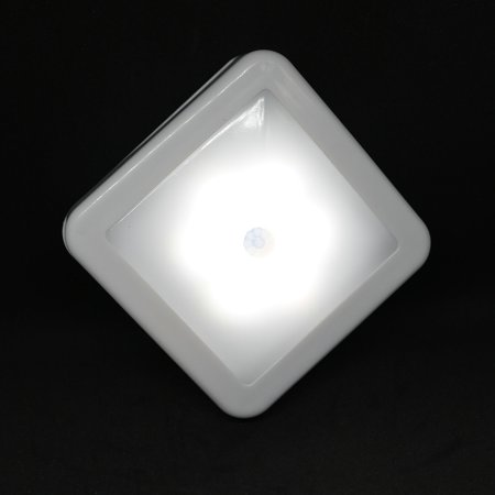 Intelligent LED Induction Lamp Square Sensor Induction Lamp Night Light Lamp for Bedroom Hallway - image 3 of 7