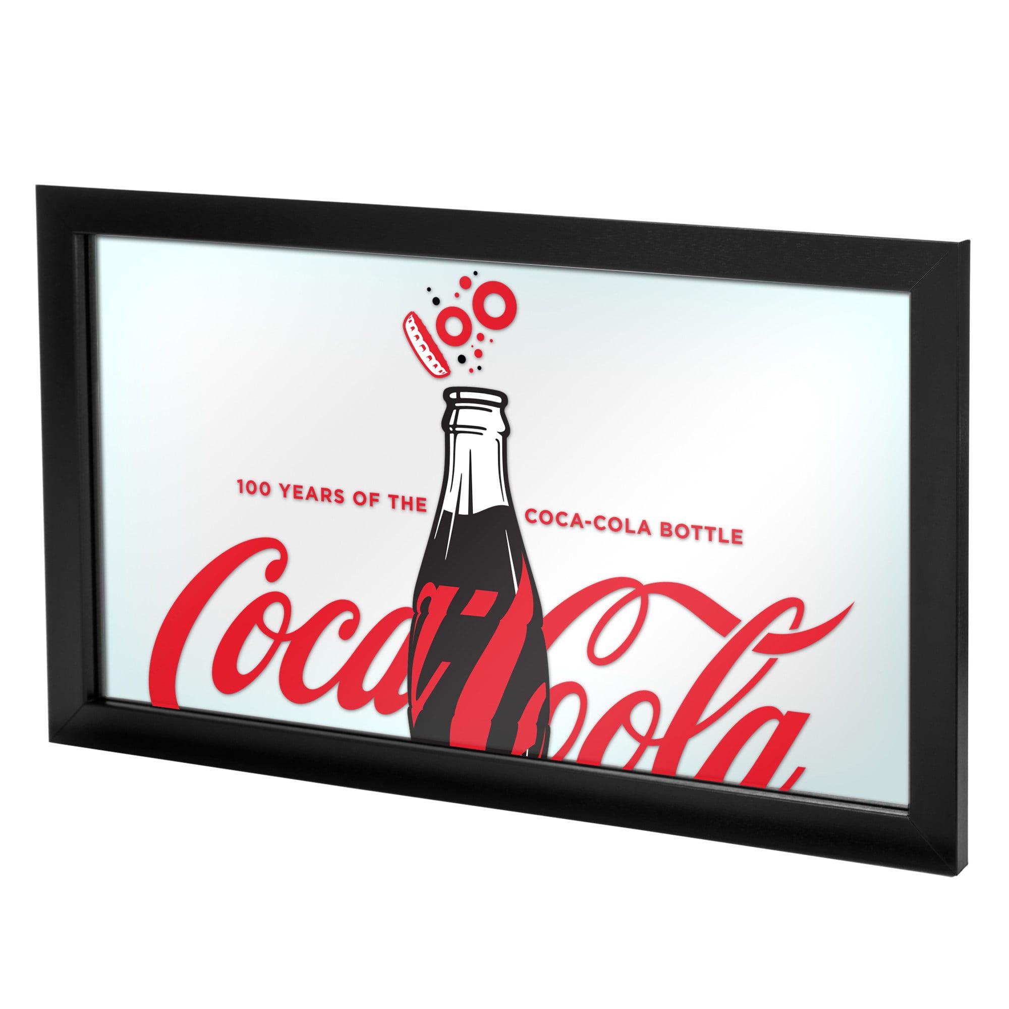 Coca-Cola License Plate Mirrored NEW