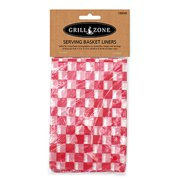 BLUE RHINO GLOBAL SOURCING Barbecue Basket Paper Liners, 12 x 12-In., 24-Pk.