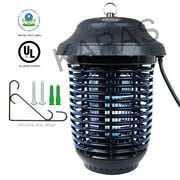 Outdoor Electric Insect Zapper with Hanger, Kapas 40W Outdoor Bug Killer Lantern for Mosquitoes, Flies, Gnats, Pests & Other Insects,1 Acre Coverage