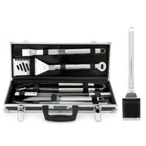 Mr. Bar-B-Q 02068X-02079SSX 18 Pc Tool Set And Grill Brush