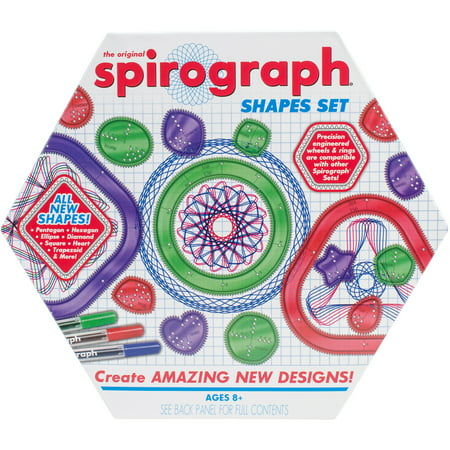Spirograph Deluxe (Spirograph Shapes Set)