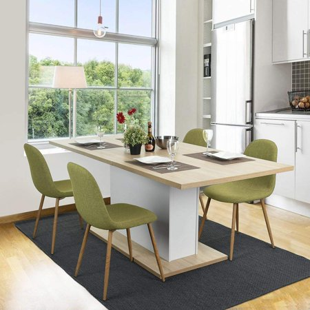 Magshion Side Metal Legs Cushion Seat Back Dining Room ...