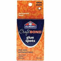 Elmer's Craft Bond Thin Mini Glue Spots, 300 Count