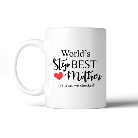 World'S Best Stepmother Mug Mothers Day Gifts From (Best Gifts From Canada)