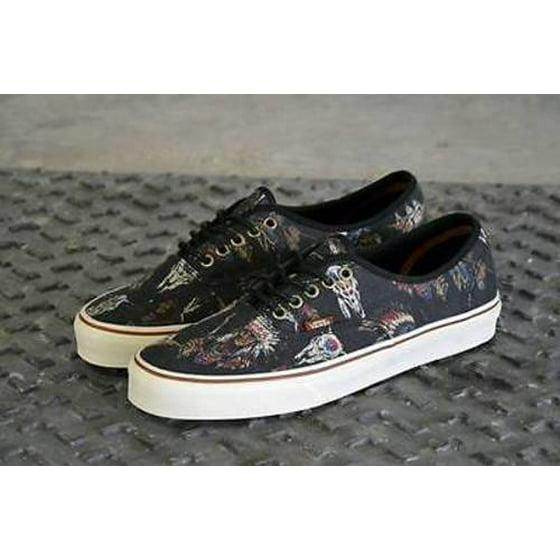7ab01af5705a49 VANS - Vans Authentic Tribal Leaders Black Men s Classic Skate Shoes ...