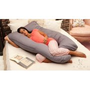 Naomi Home Cozy Body Pillow-Color:Red