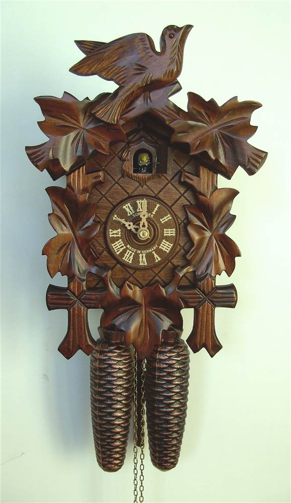 8-Day Black Forest Traditional Cuckoo Clock by Schneider Cuckoo Clocks