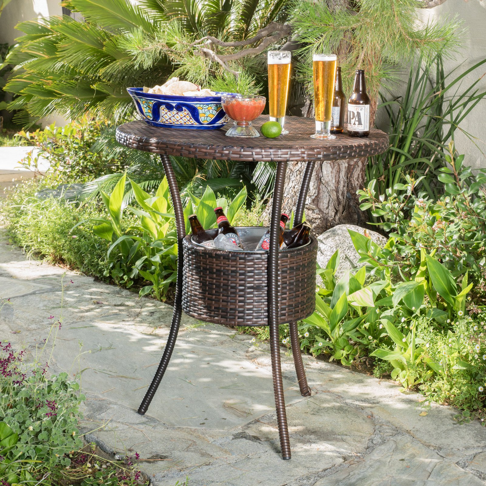 Best Selling Home Hondura Patio Table with Ice Pail