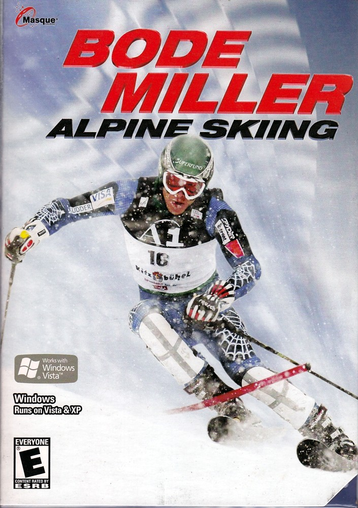 BODE MILLER ALPINE SKIING PC Take to the Ski Slopes by Masque Publishing Inc.