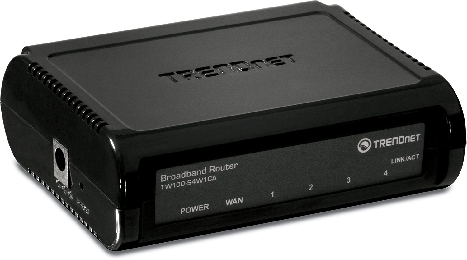 4-Port Broadband Router, 4 x 10 100 ports, Instant Recognizing, Plug & Play, Firewall Protection, TW100-S4W1CA, Ship... by TRENDnet