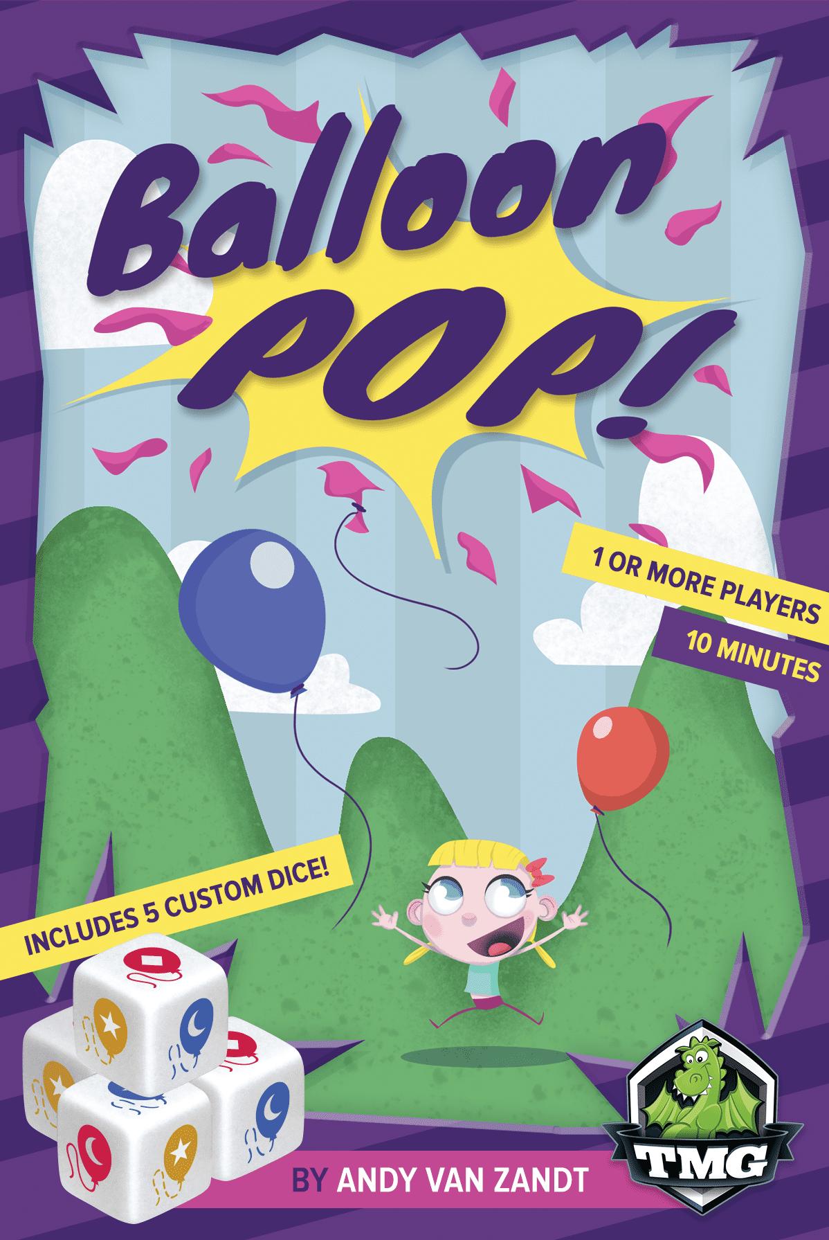 Balloon Pop Board Game by Tasty Minstrel Games