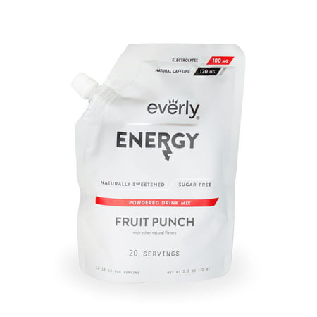 Halloween Alcoholic Punch Mixes (Everly, Energy Powdered Drink Mix, Fruit Punch, 20)