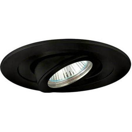 Adjustable Gimbal Ring Trim, Black