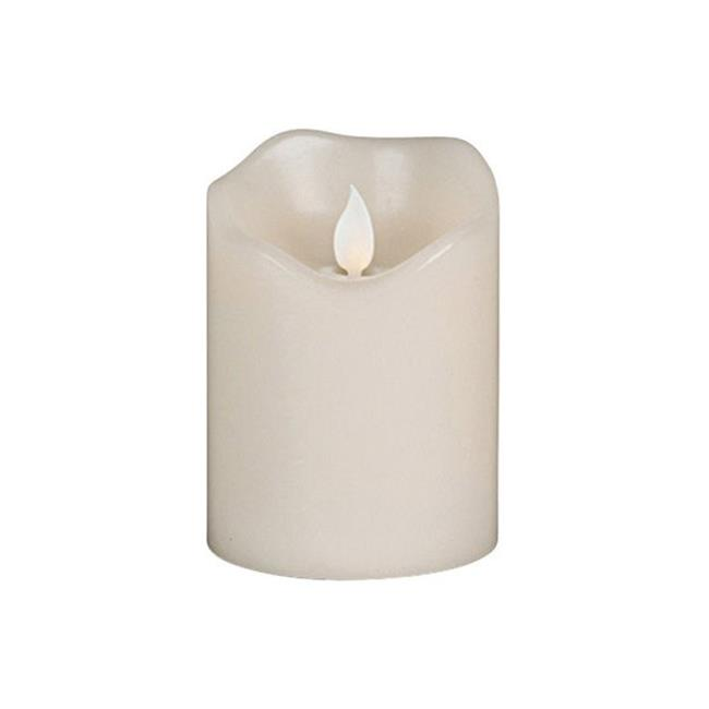 42536 3 x 4 in. Flameless Pillar Candle - image 1 of 1