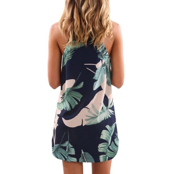 aa133126f8 ... Neck Floral Print Loose Irregular High Low Navy Blue Floral White Blue  Leaves Spring Summer Autumn Dresses for Women.perfect for casual