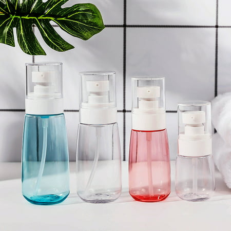 Bluelans 30/60/80/100ml Liquid Soap Shampoo Lotion Shower Gel Pump Bottle Empty Dispenser
