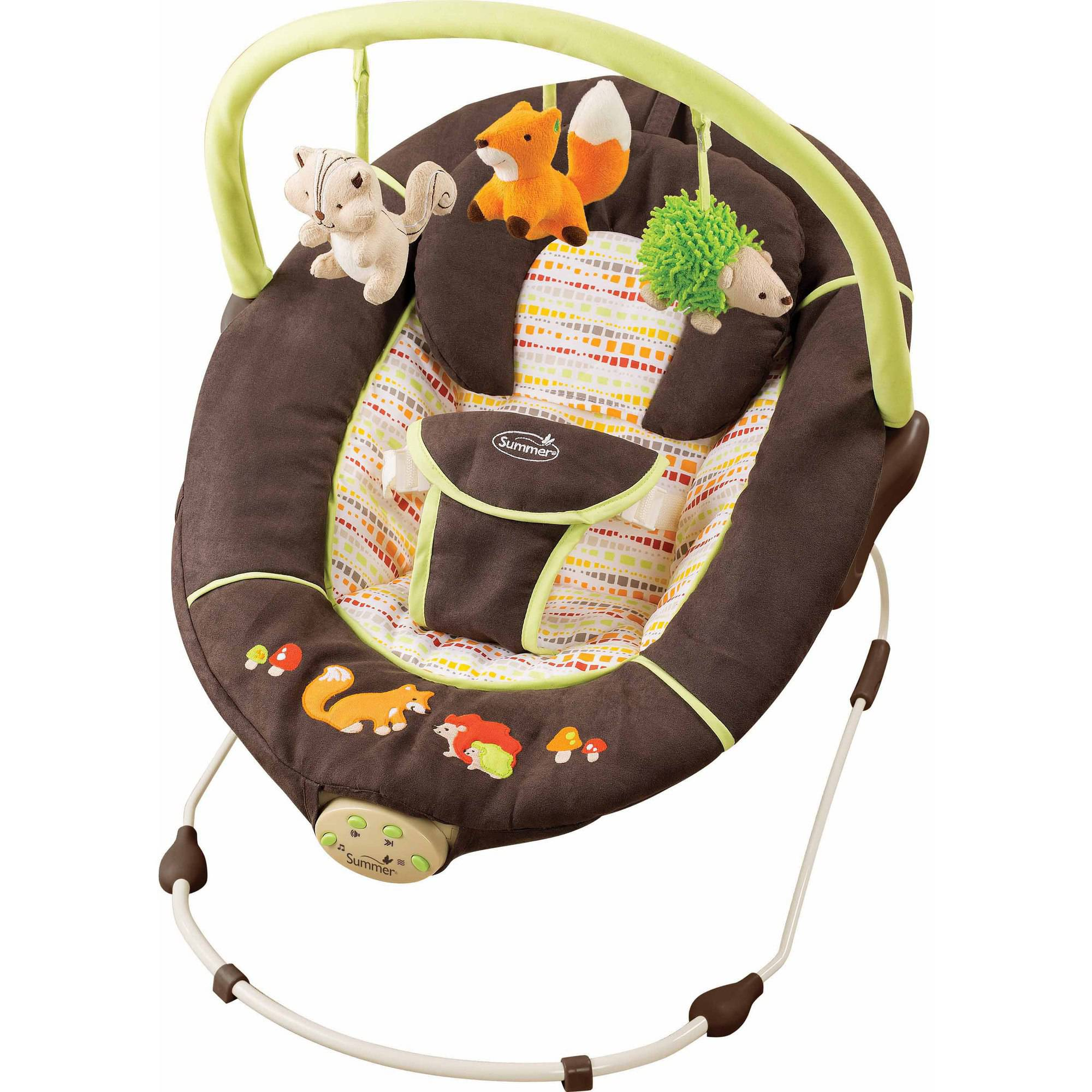 Summer Infant Fox and Friends Sweet Comfort Musical Bouncer