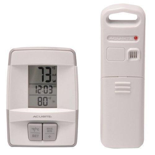AcuRite Wireless Digital Indoor & Outdoor Thermometer