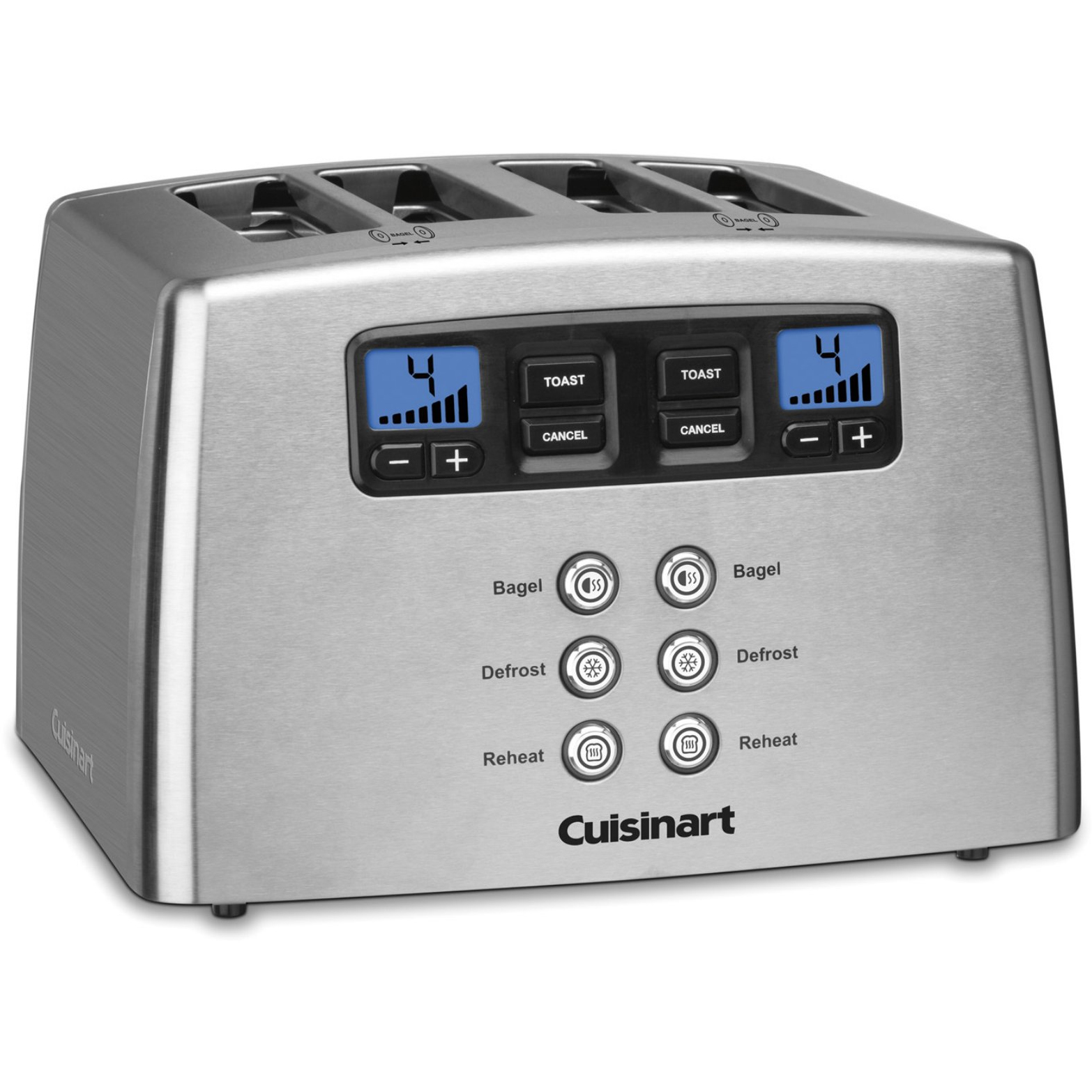Cuisinart Cpt-440 Touch To Toast Leverless 4-slice Grille-pain