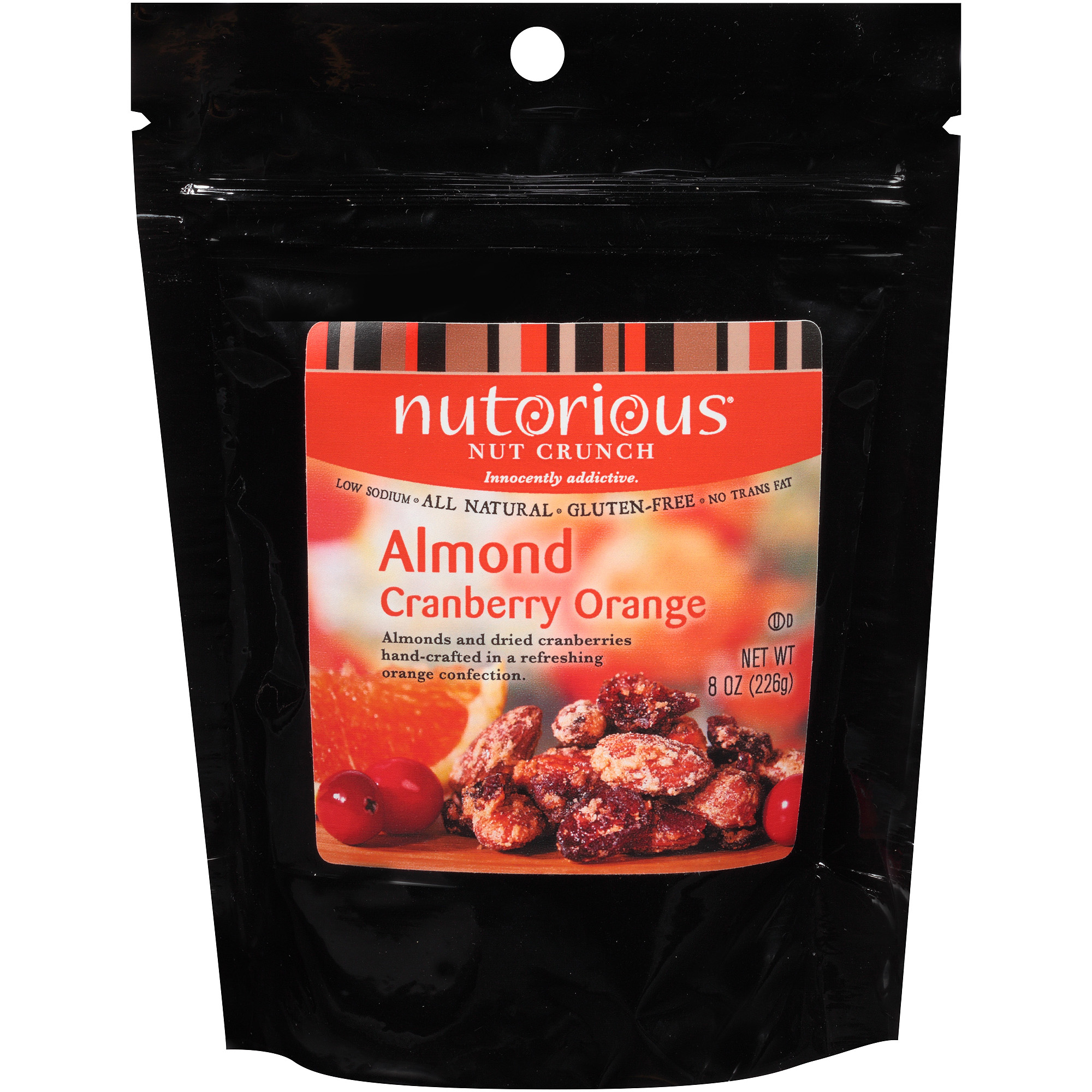 Nutorious Almond Cranberry Orange Nut Crunch, 8 oz