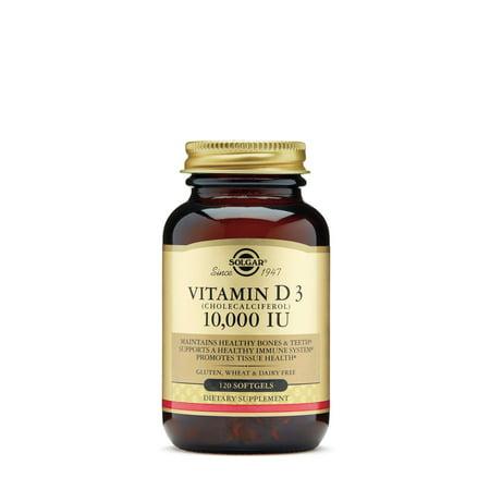 Solgar vitamin d3 10,000 iu softgels, 120 ct (Solgar Liquid Vitamin D3)