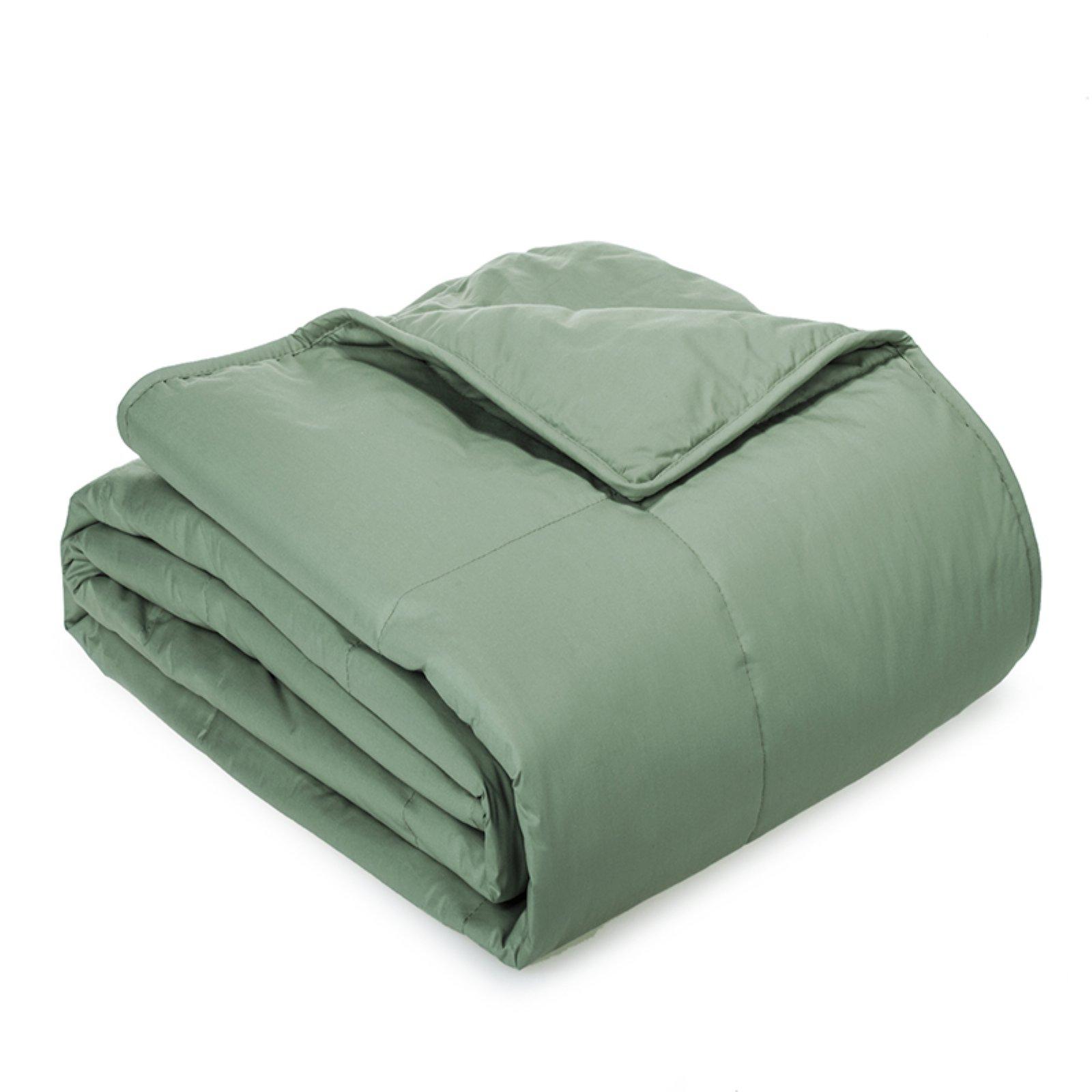 Twin Cottonloft Soft All Natural Breathable Cotton Comforter, Black
