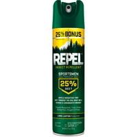 Repel Insect Repellent Sportsmen Formula 25% DEET Aerosol, 8.125-oz