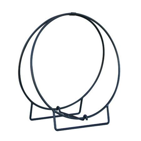 - Uniflame Black Log Hoop - 1/2 in. Solid Stock