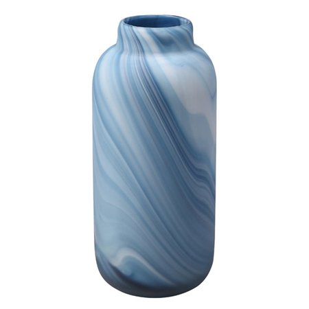 Moes Swirl Glass Vase In Blue Walmart