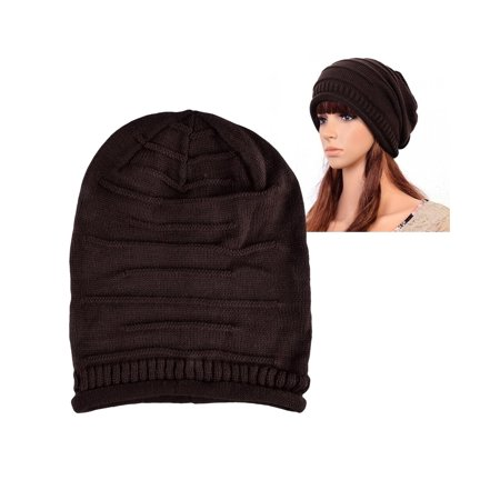 f62581af Zodaca - Zodaca Womens Beanie Hat slouchy Beanie Crochet Knit Soft Hat Cap  Winter Warm Ladies Girls Mens Unisex Stretch Beanie - Walmart.com