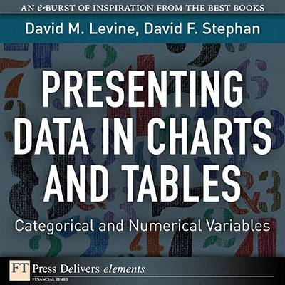 Presenting Data in Charts and Tables - eBook