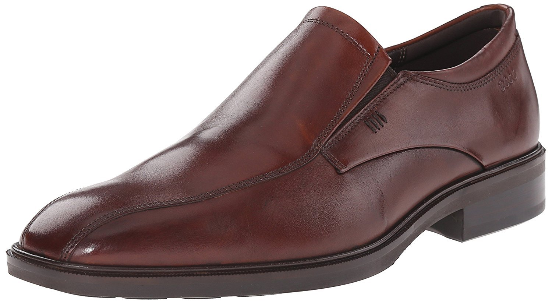 ECCO Men's Illinois Slip-On Loafer, Cognac, 45 EU 11-11.5 M US by Ecco