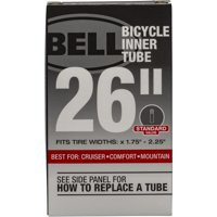 "Bell Sports Standard Bicycle Inner Tube, 26"" x 1.75-2.25"", 35mm Schrader Valve"