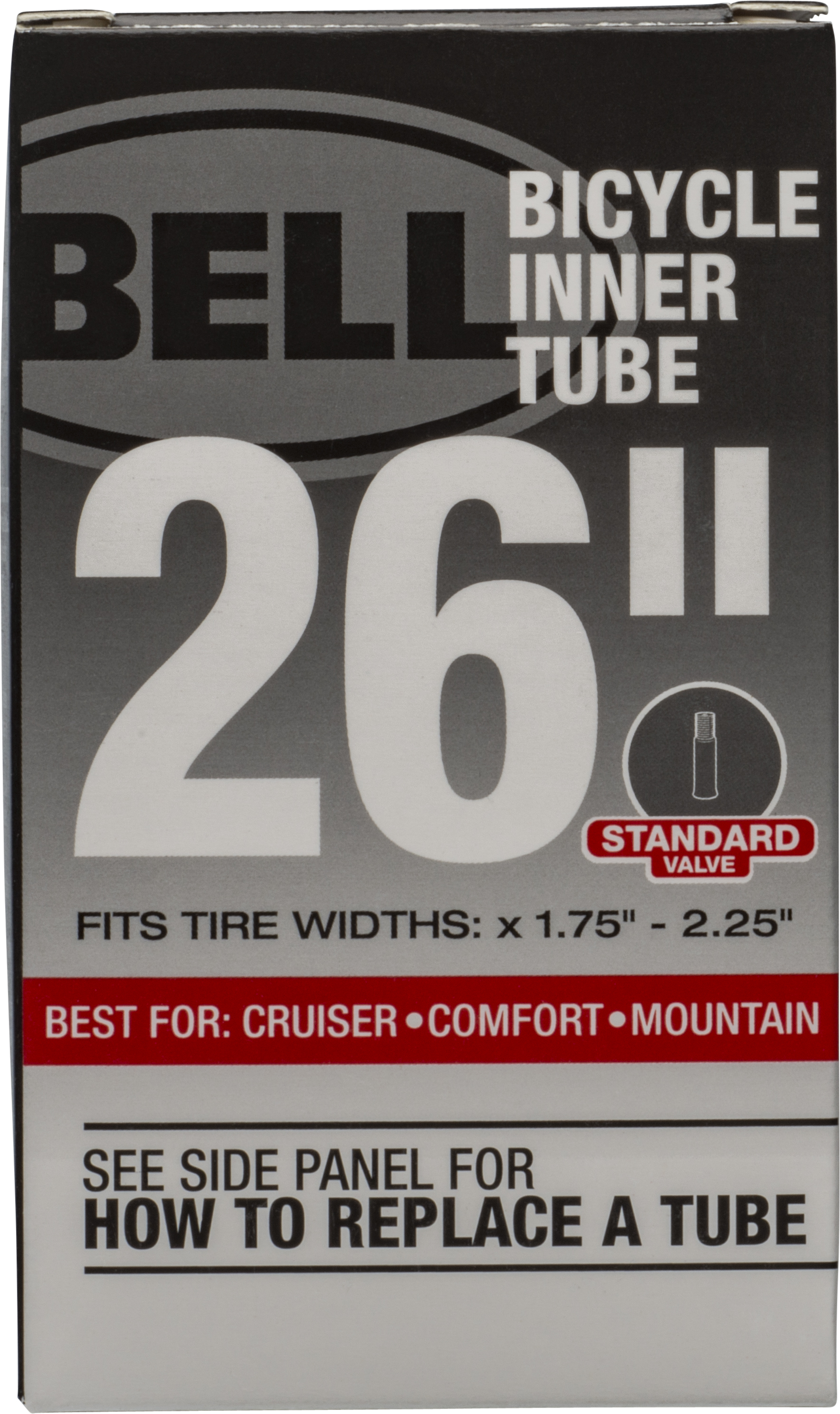 """BELL 26 Inch BICYCLE INNER TUBE SCHRADER VALVE  26/"""" X 1.25 to 1.375/"""" NEW."""