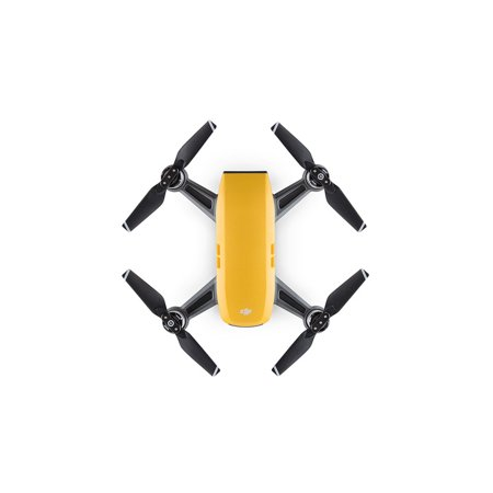 DJI Spark Drone in Sunrise Yellow