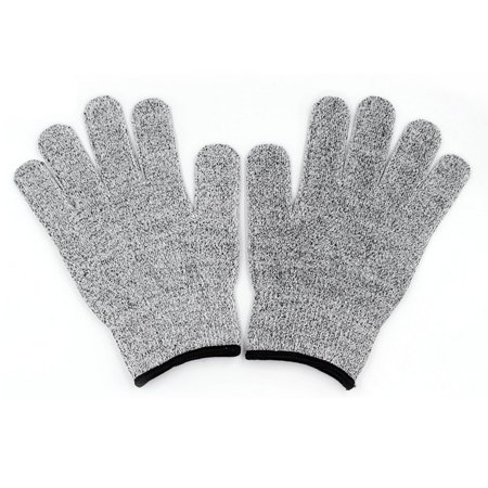 One Pair/Set Durable Use Working Safety Gloves Cut-Resistant Anti Abrasion Level 5 Kitchen Cutting Anti Cut Gloves - image 2 of 7