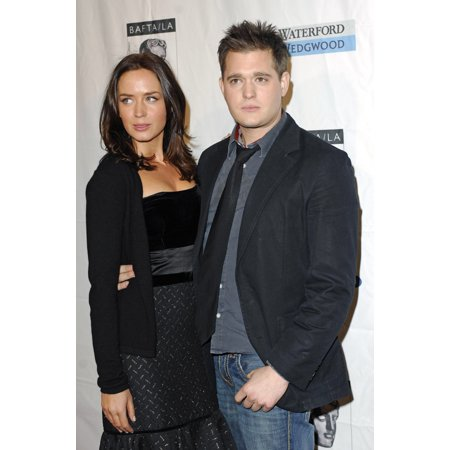 Emily Blunt Michael Buble At Arrivals For Bafta British Academy Of Film And Television Arts La Tea Party Four Seasons Hotel Los Angeles Ca January 14 2007 Photo By Michael GermanaEverett Collection (Michael Buble Caught In The Act Home)